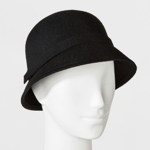 e7d74a801 Target Cloche Wool Hat in Black